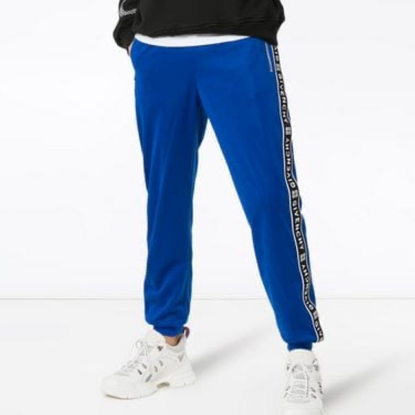 Givenchy Blue Track Pants (Track Suite)