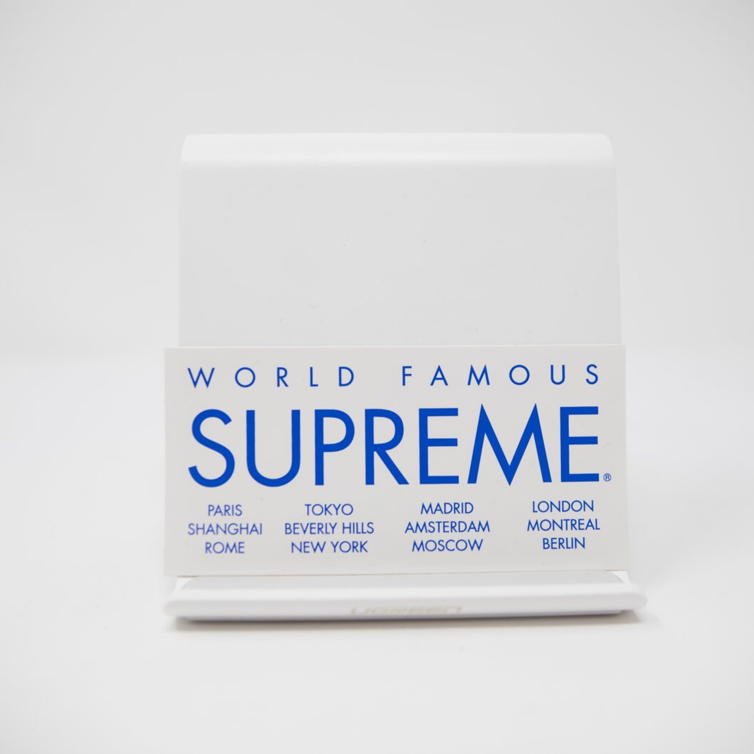Supreme World Famous Sticker (Mint)