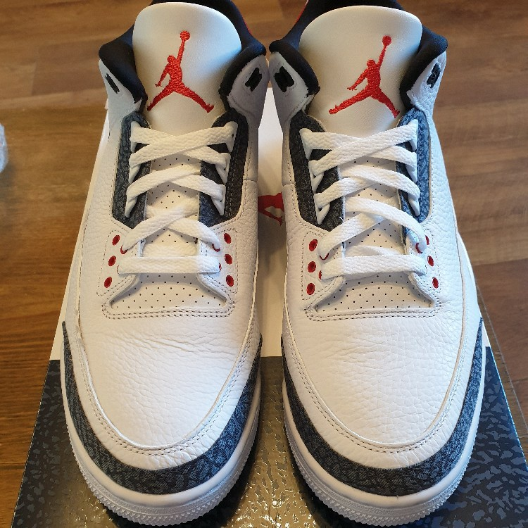 "UK Size 9.5 Air Jordan 3 ""Denim"""
