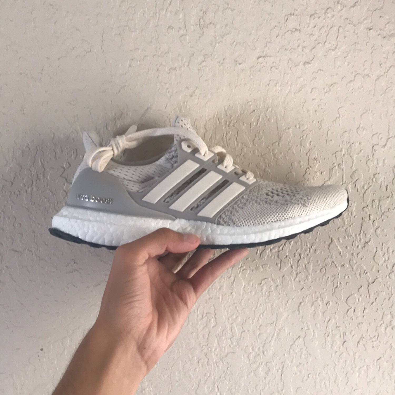 timeless design 5f65b aed83 Adidas Ultra Boost 1.0 Cream White.