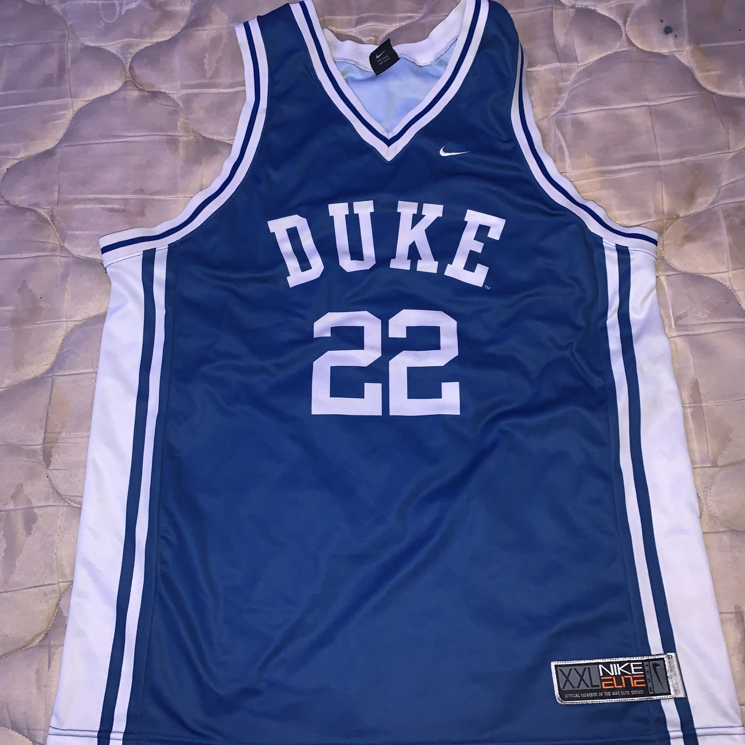new style d5f97 d5dfd Vintage Nike Duke Basketball Jersey