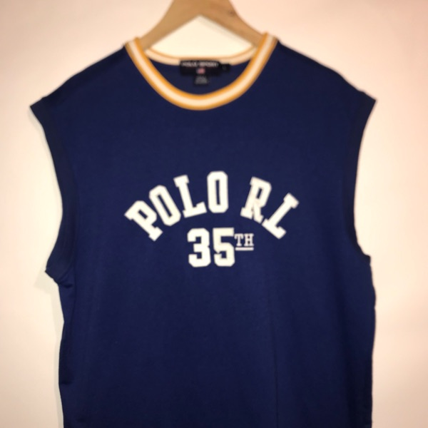 Vintage Polo Sport Jersey/Tank Top