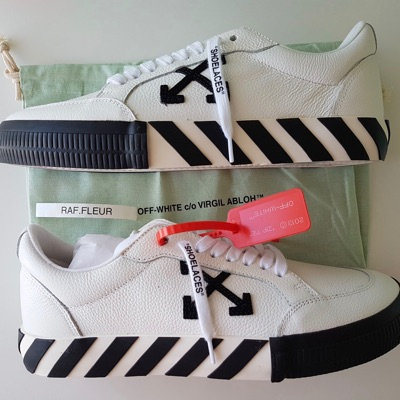 Off White Vulc Low White Leather
