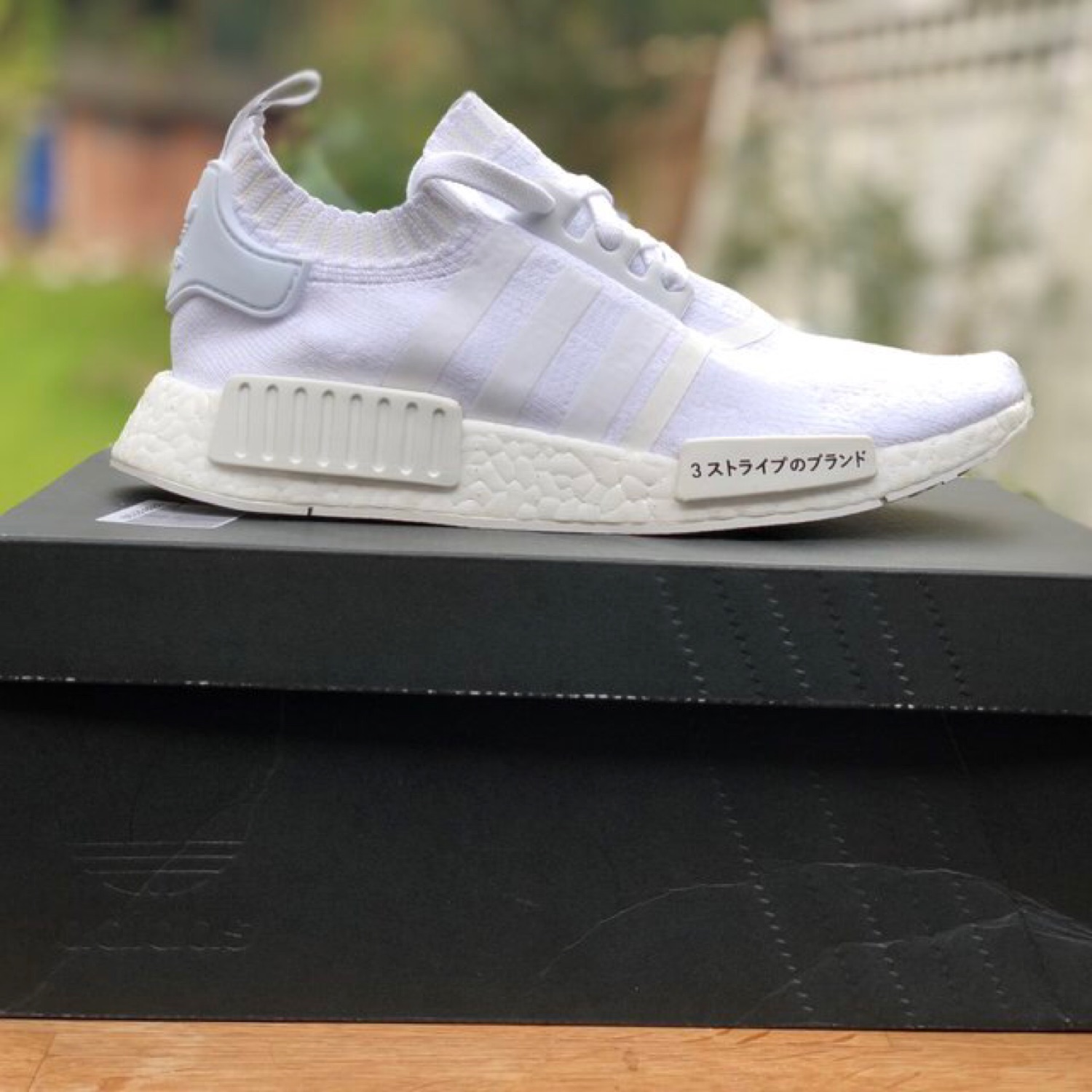size 40 dfe85 77ef6 Adidas Nmd R1 Japan Triple White