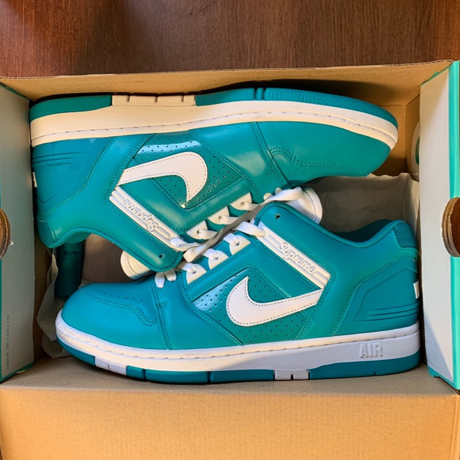 Supreme X Air Force One Teal