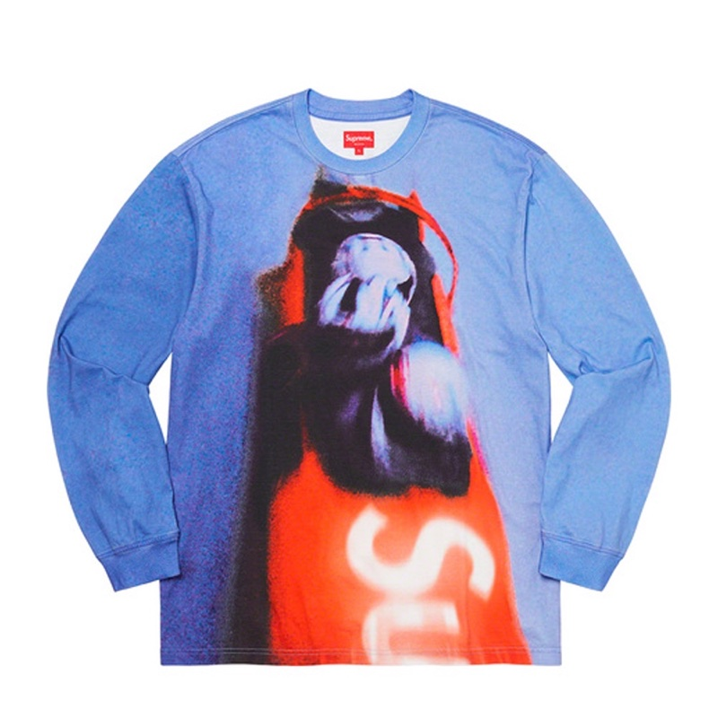 Supreme Bobsled LS Top Blue