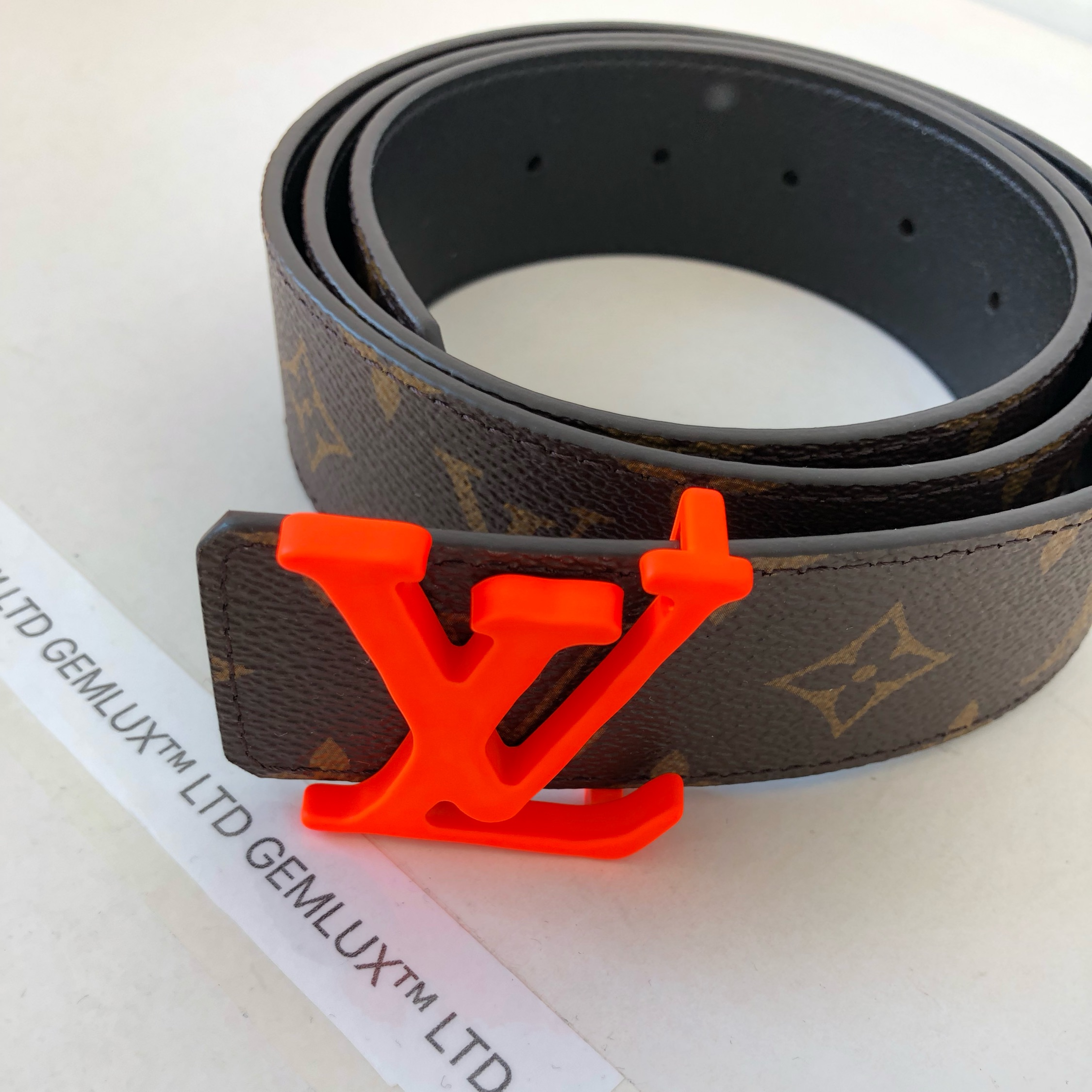 07caa0eaad4 Louis Vuitton Buckle 40Mm Belt 95 Virgil Abloh