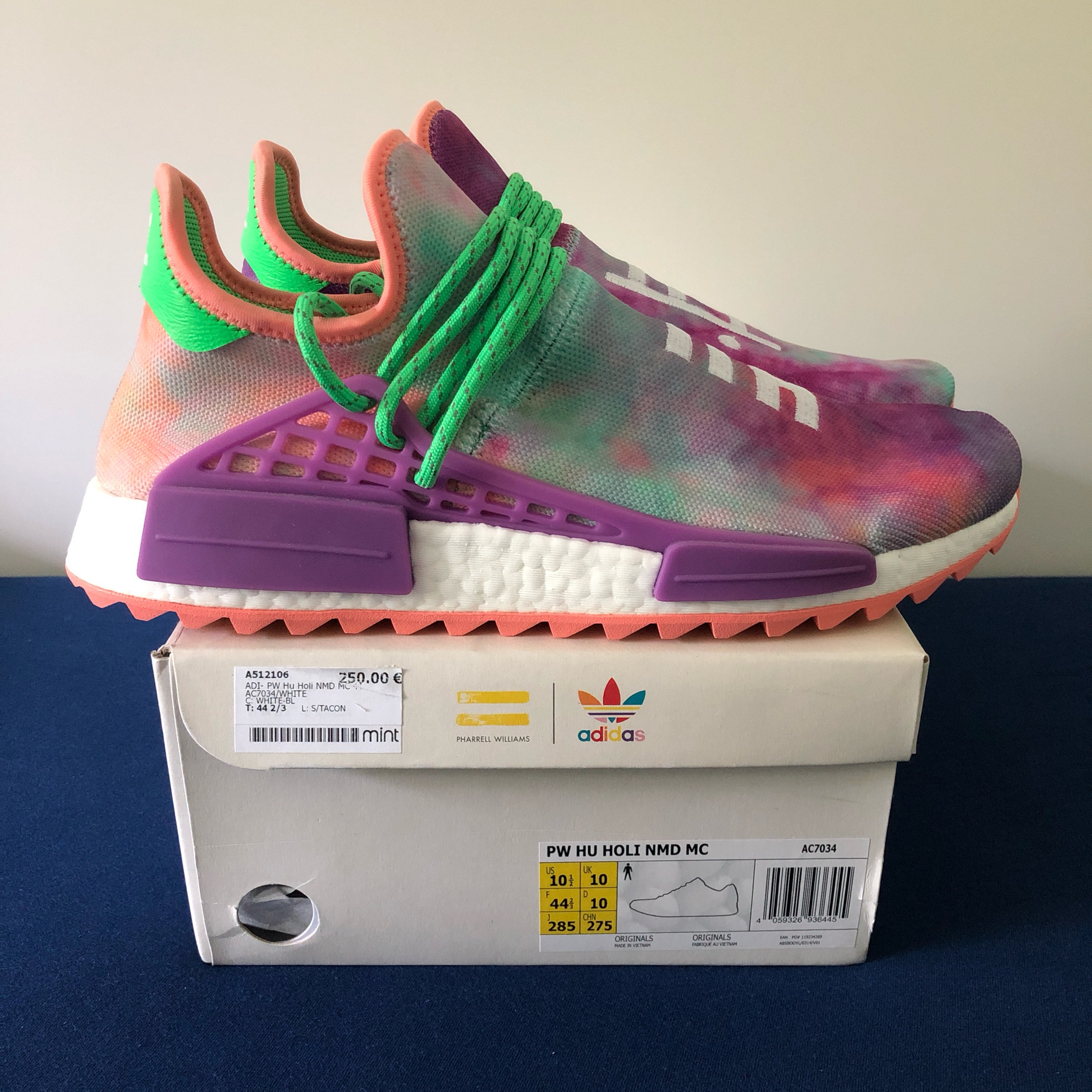 more photos a59c9 b343c Adidas Pharrell Williams Nmd Human Race Hu Holi