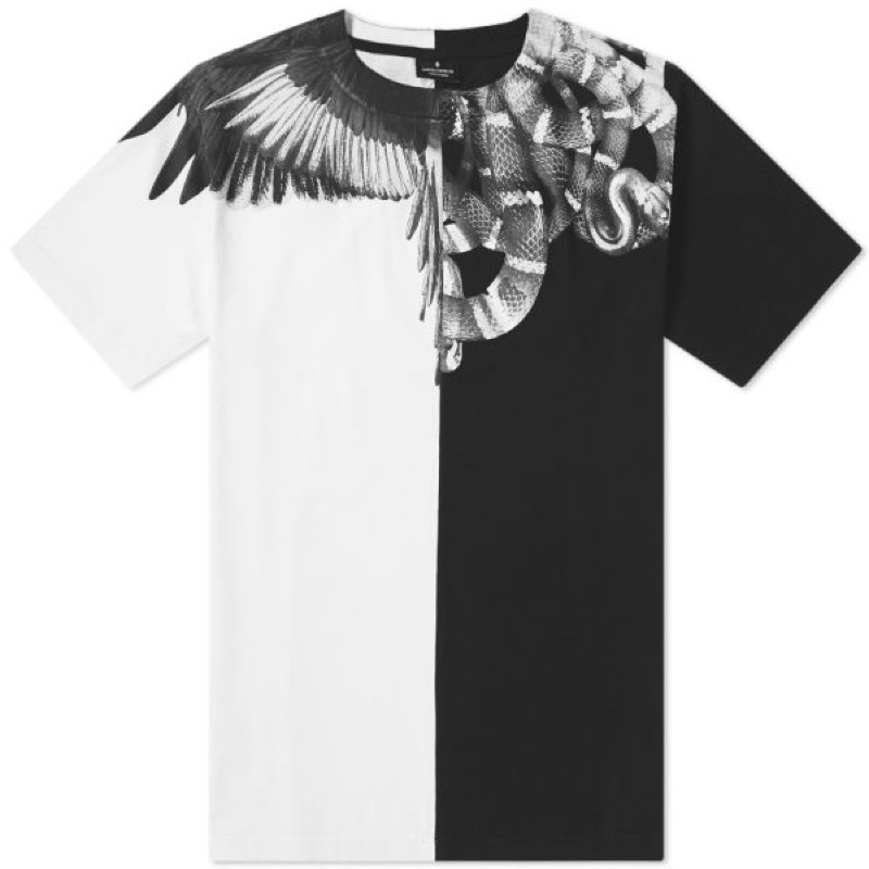 Marcelo Burlon Wings And Snakes Tee