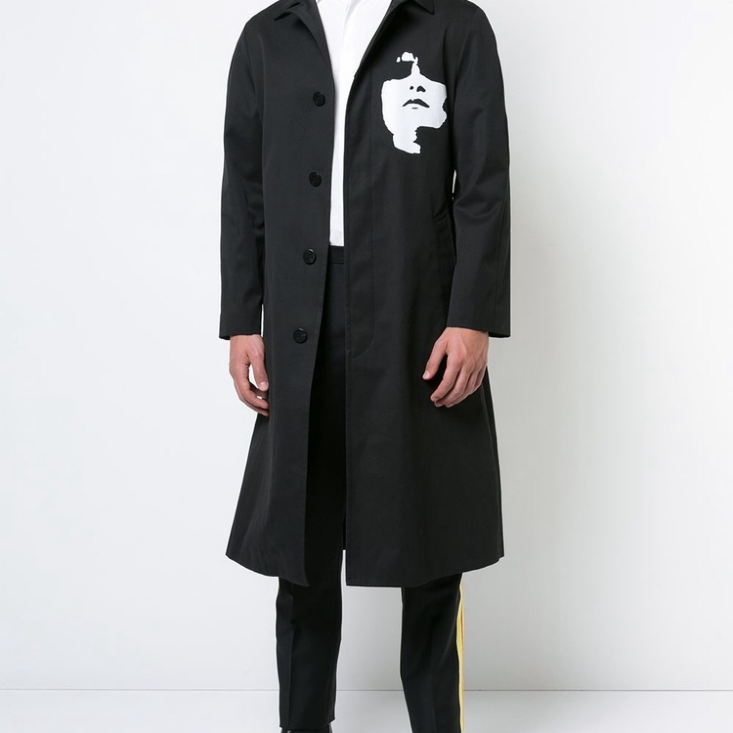 Neil Barrett Siouxsie Belted Trench Coat Aw17