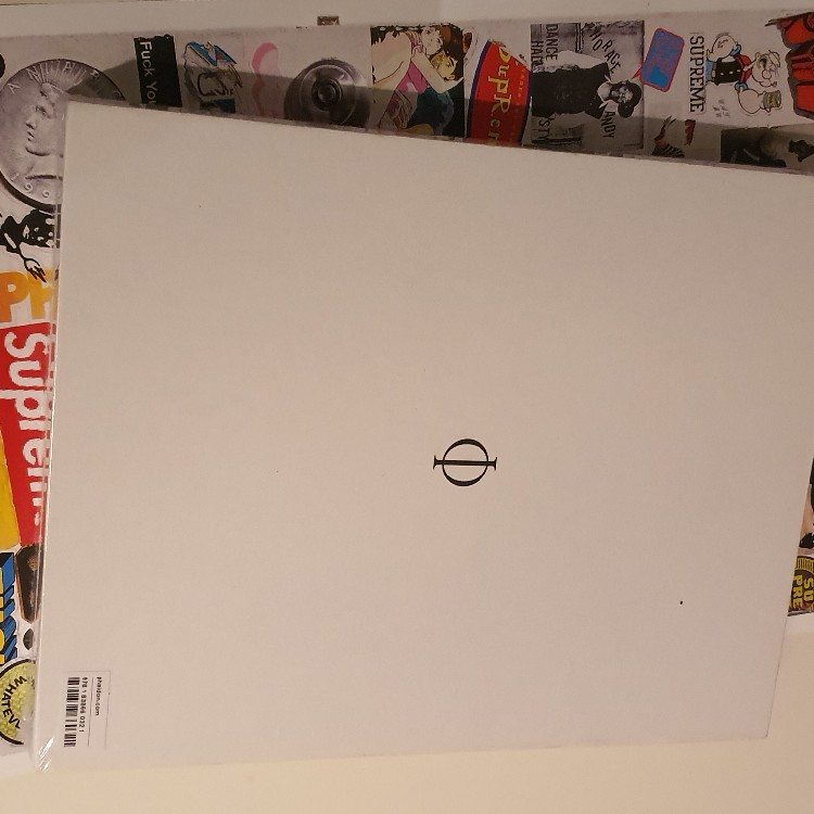 FW19 Supreme Book Vol. 2 + the poster and special box logo sticker + F&F poster