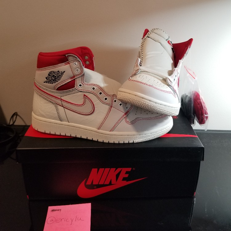 f9329291152 DS New Air Jordan 1 Retro High Phantom Gym Red size 7.5 from Footaction