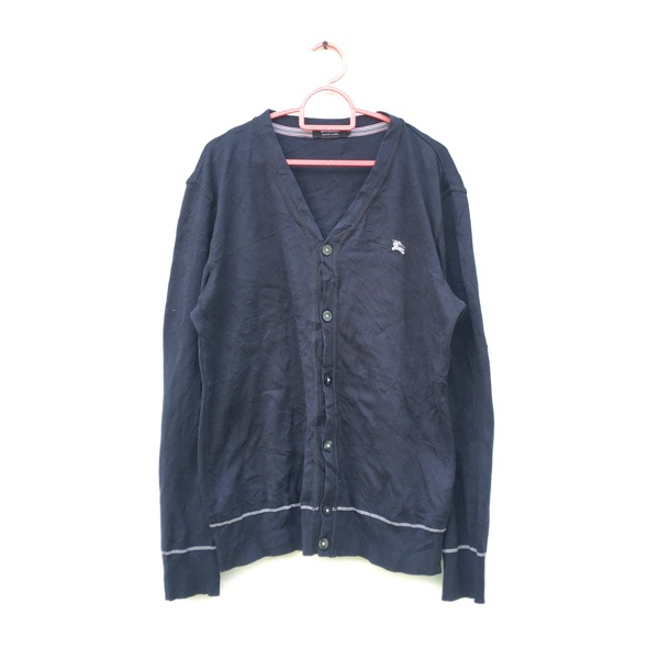 Burberry Black Label Button Up Sweater Cardigan