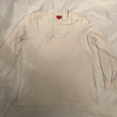 Supreme Tonal Embroidery L/S T Shirt