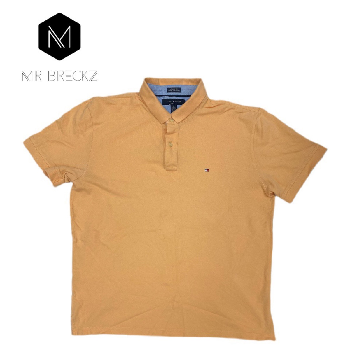 Authentic Tommy Hilfiger vintage peach polo