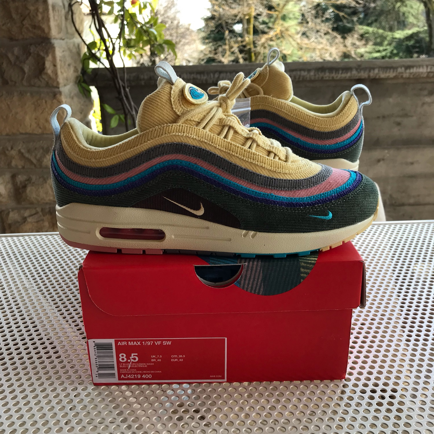 Nike Sean Wotherspoon Air Max 197 VF SW Size 8.5 NWT
