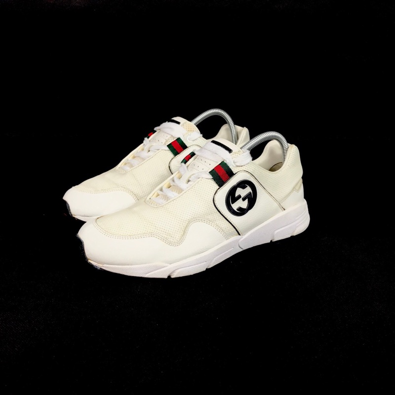 Gucci trainers white womens size 6.5