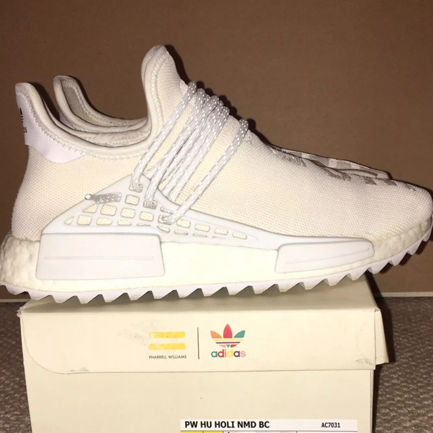 the latest d4fcf 99450 Adidas Human Race Black Canvas With Theofficialbox