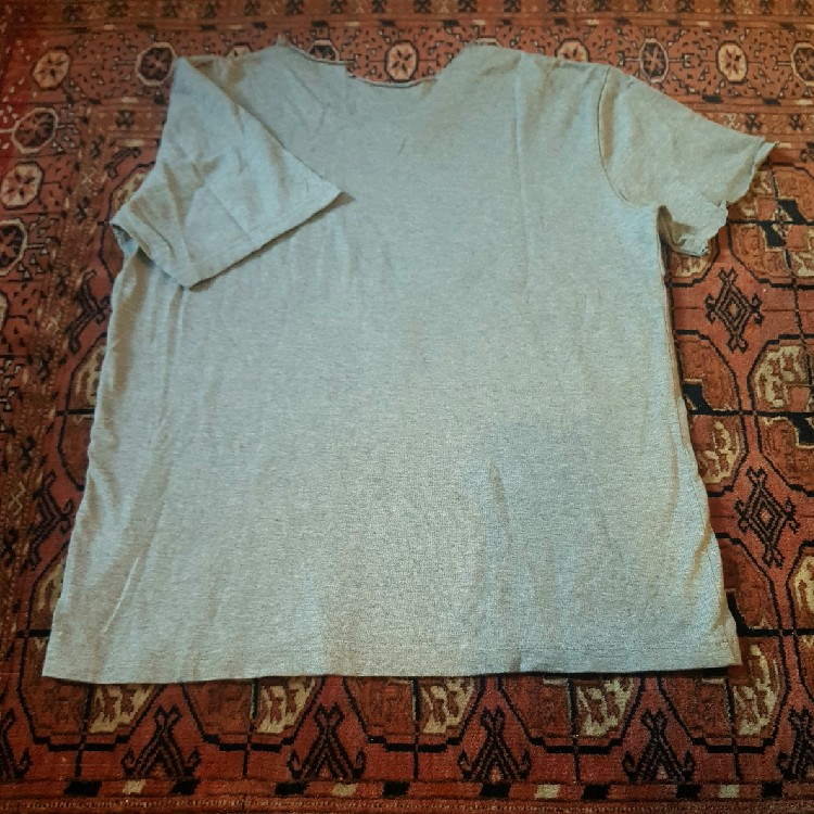 Original Fake shirt Happy Birthday Grey Medium