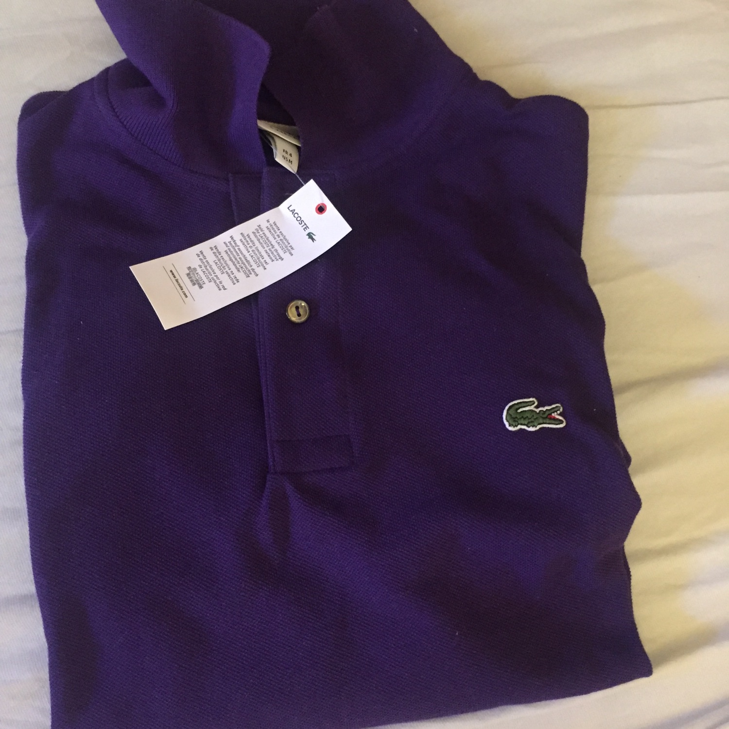92106580cf Lacoste Polo. Sold. M