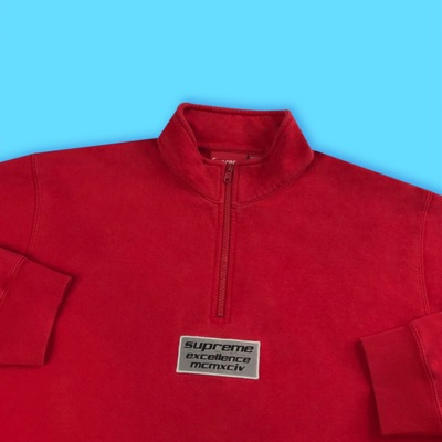 Supreme Excellence Half Zip Sweat