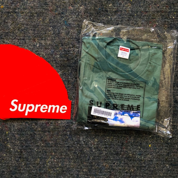 Supreme Time Tee Dark Teal
