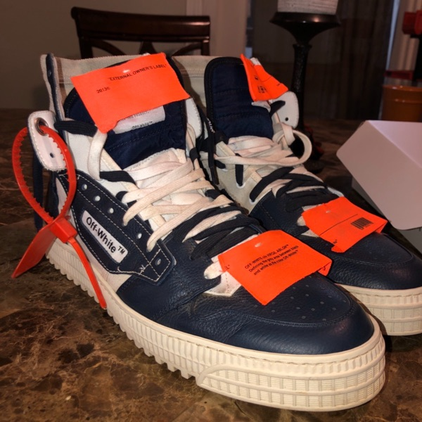 Off White Sneaker Off Court 3.0