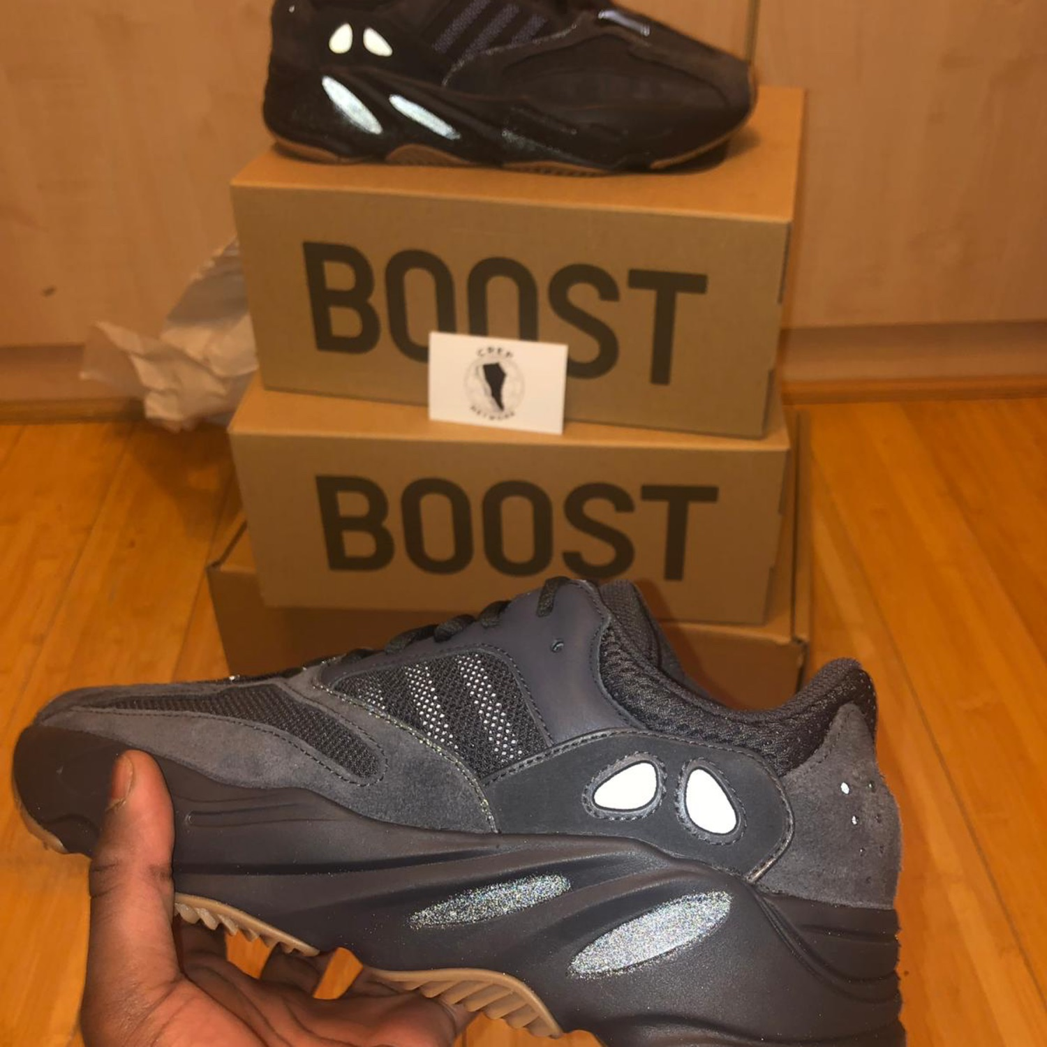 separation shoes f4555 09a1f Yeezy Boost 700 Utility Black
