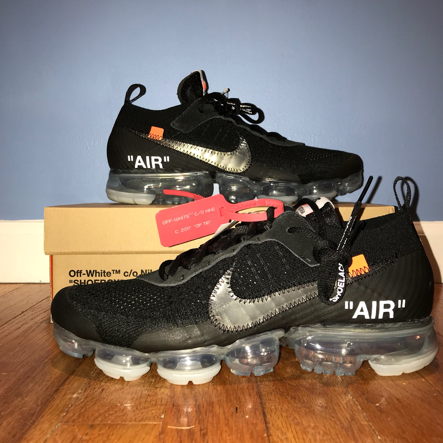 """uk availability 2a075 6cfe7 Off White C/O Nike Air Vapormax Fk """"Part 2"""""""
