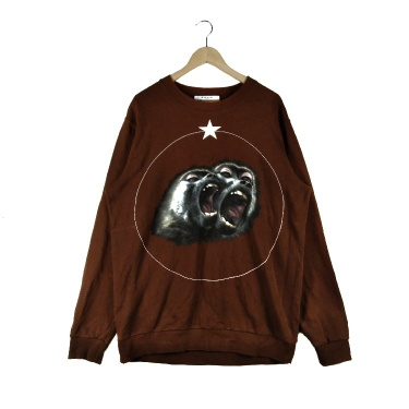 Vintage Givenchy Monkey Big Logo Sweatshirt