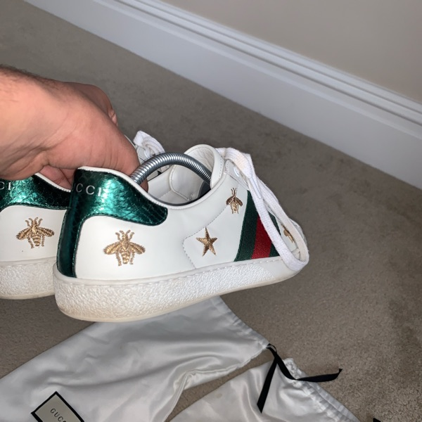 Gucci Ace Sneaker Bee And Stars Men