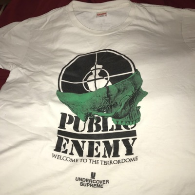 Supreme Under Cover Public Enemy Terrordome