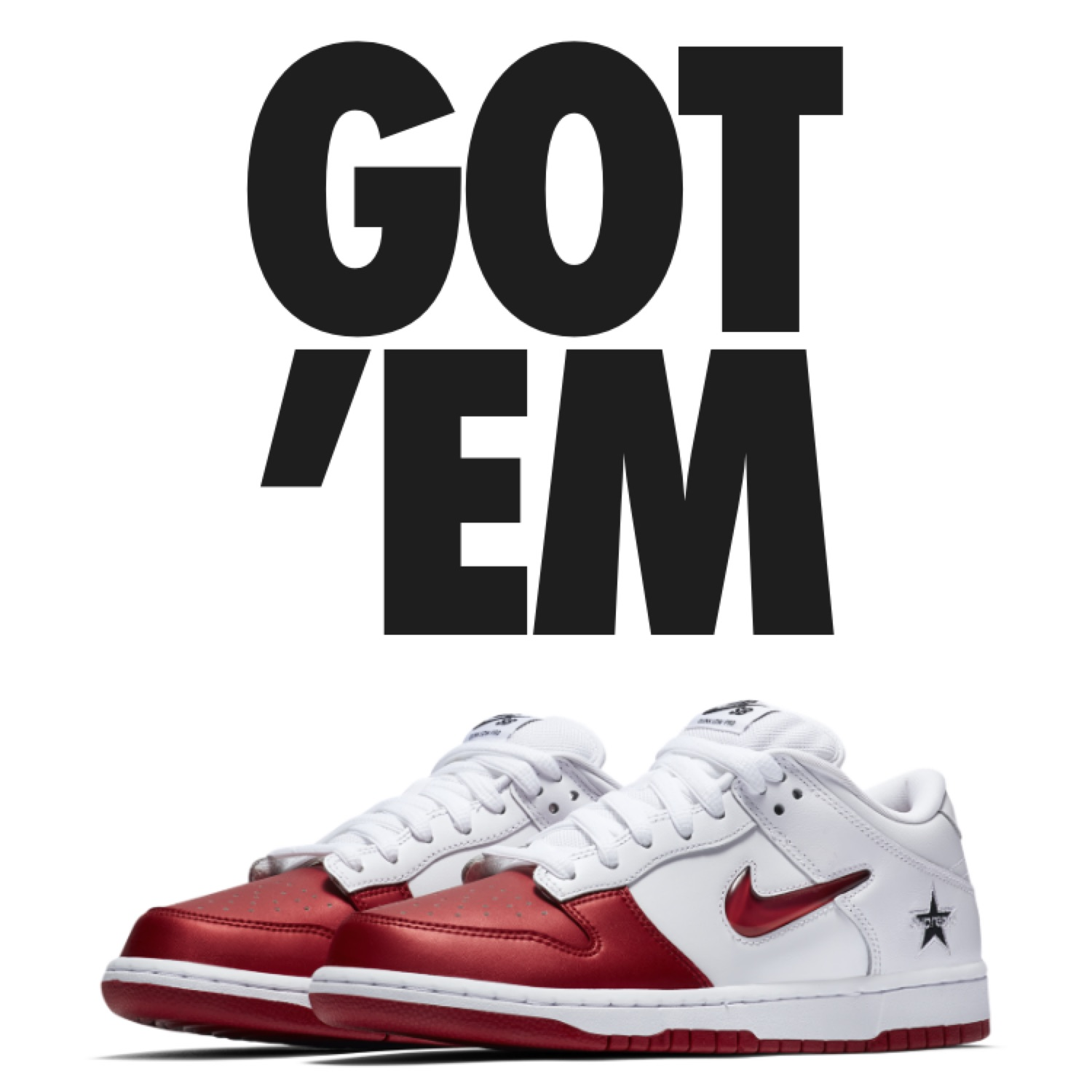 online store 3a1b2 3873c Nike Supreme Sb Dunk Low Red