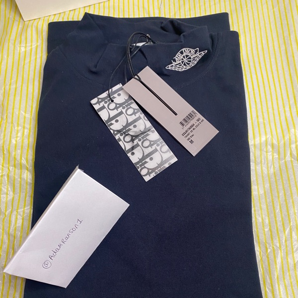 Air Dior Navy Long Sleeve Turtle Neck