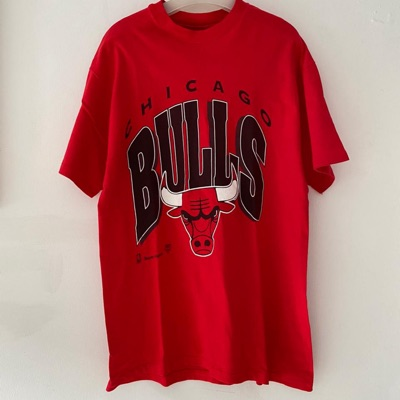 Vintage Chicago Bulls By Hanes Old
