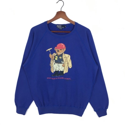 Vintage 90'S Polo Bear Crewneck By Ralph Lauren