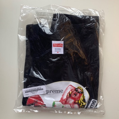 Supreme It Gets Better Every Time Tee / Large