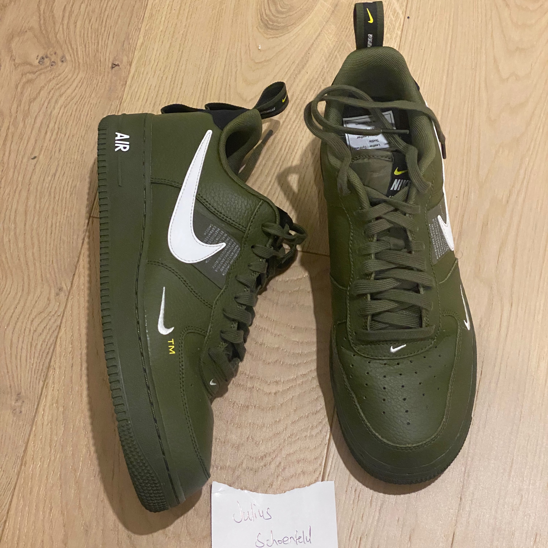 Air Force 1 Low Utility Olive Canvas
