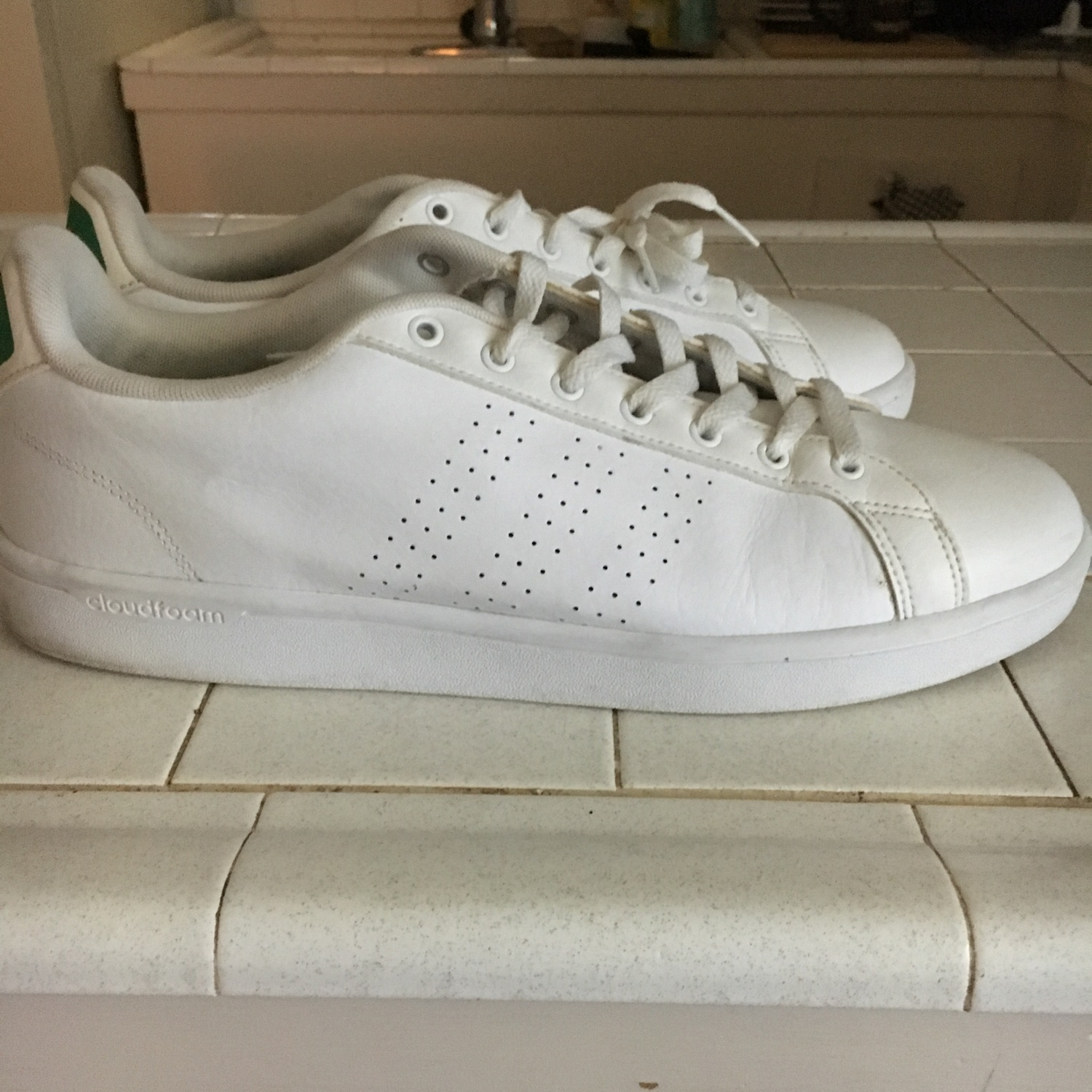 new arrivals 38610 016a8 Adidas Stan Smith White Green