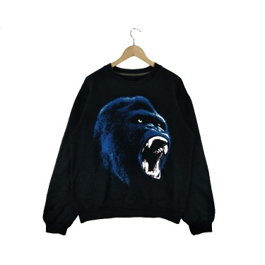 Vintage King Kong All Over Full Print x Made In Usa