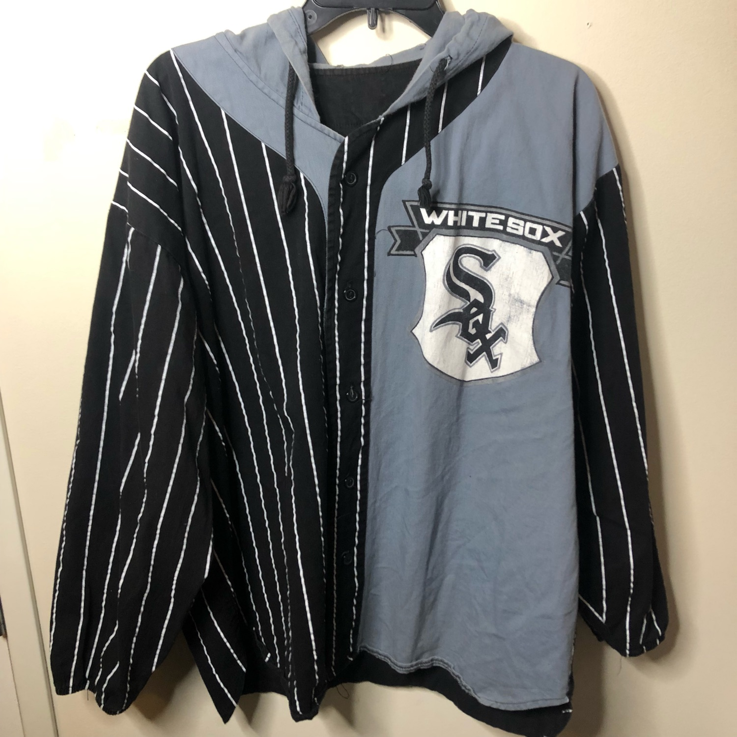 huge discount f8ad8 ff0e4 Vintage 80'S 90'S Mlb Chicago White Sox Hoodie