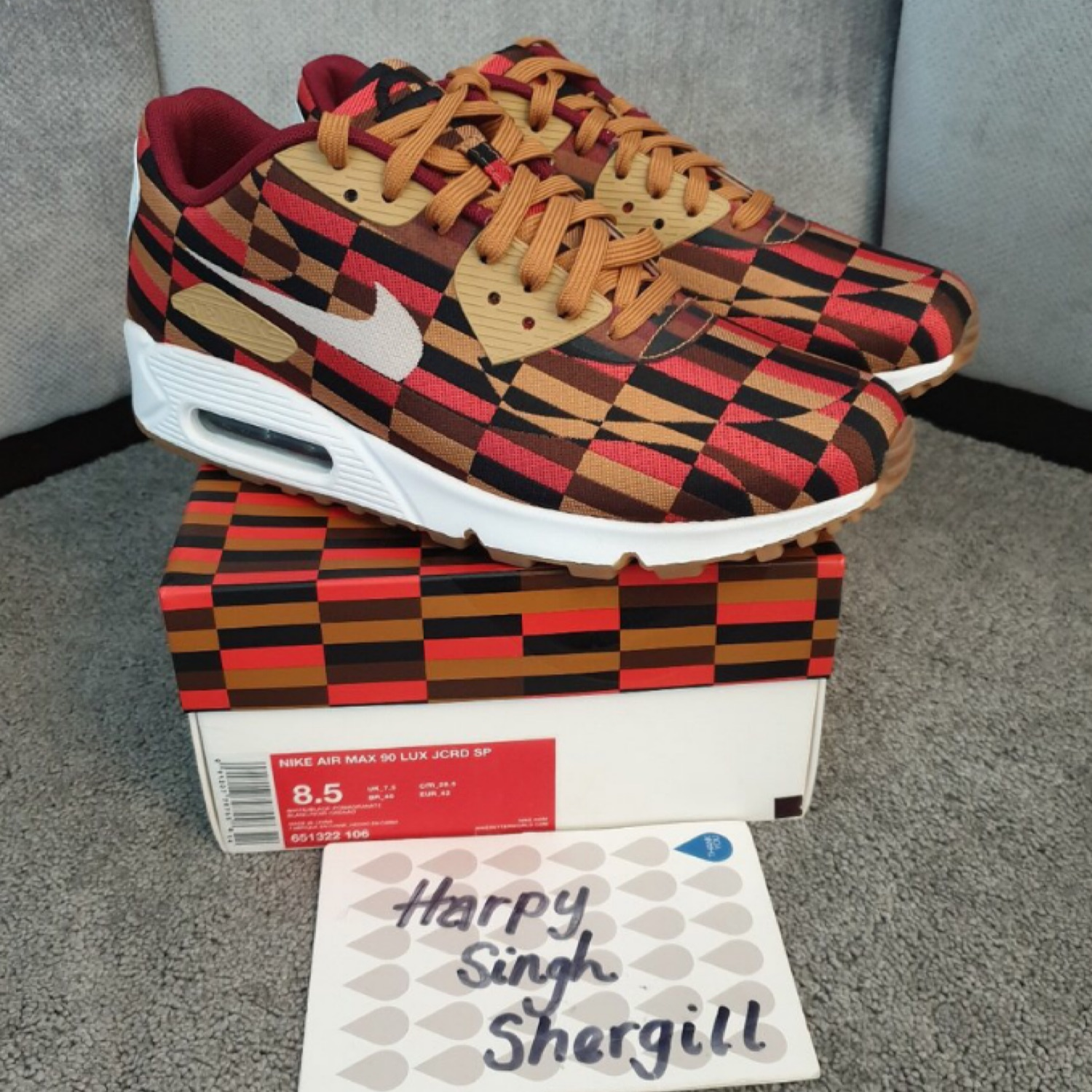 new arrival 12a18 86ed5 Nike Air Max 90S London Underground (Rounder)