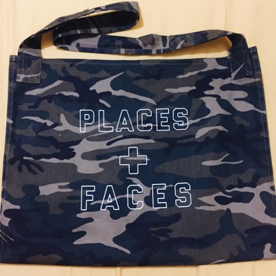 Place Plus Faces Tote Bag
