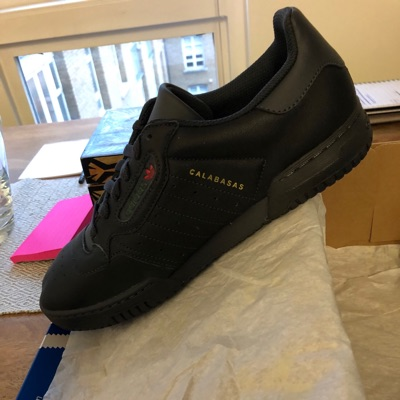 Adidas Yeezy Calabasas Powerphase Black Uk 9