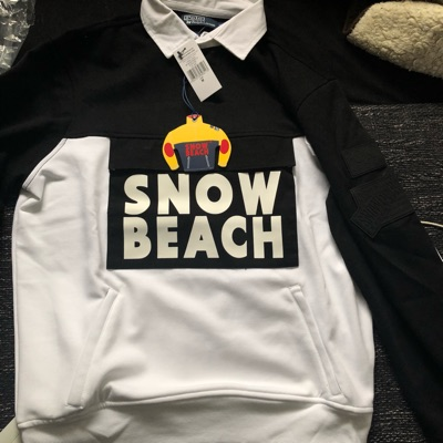 Ralph Lauren Snow Beach Black/White Limited