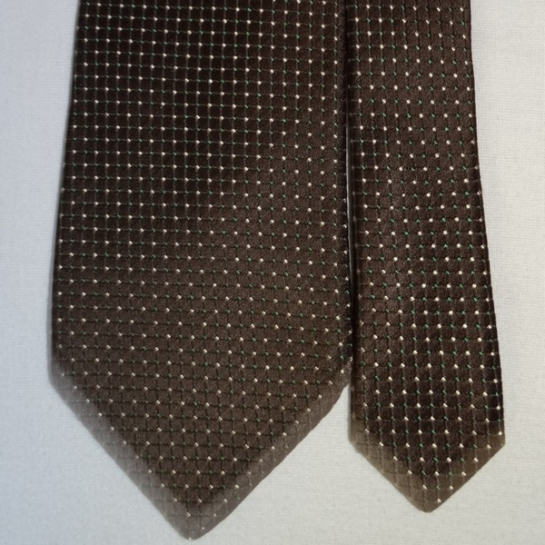 Paul Smith Brown Spotted Tie