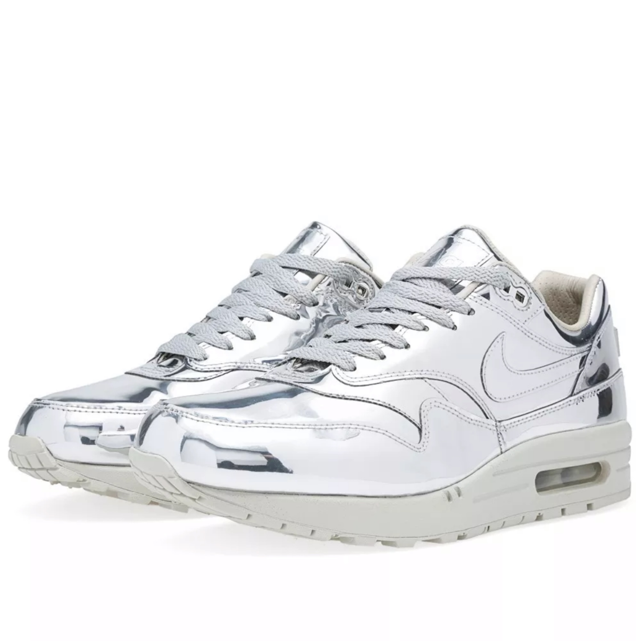 Nike Air Max 1 SP Liquid Metal Silver | Shophousingworks