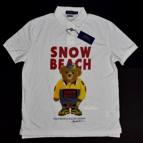 Polo Ralph Lauren Snow Beach Shirt New L