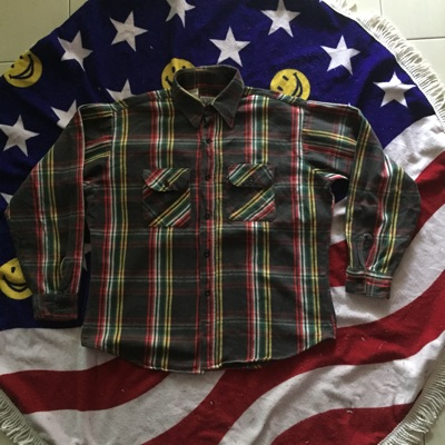 Vintage 70'S Big Mike Flannel
