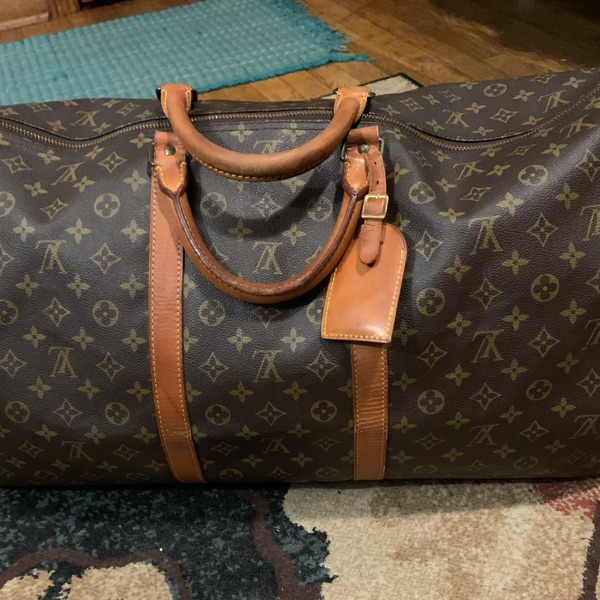 "Louis Vuitton Keepall 60"" Monogram"